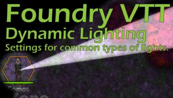 creating common types of lights with foundry vtt dynamic lighting