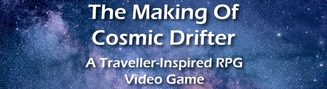 The Making Of Cosmic Drifter: A Traveller-Inspired Video Game title image