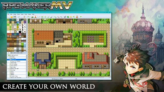 make your own rpg video game with rpg maker